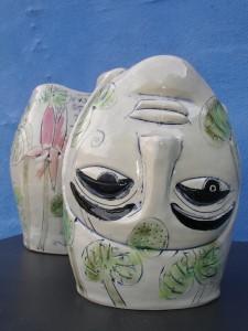 hoved-skulptur